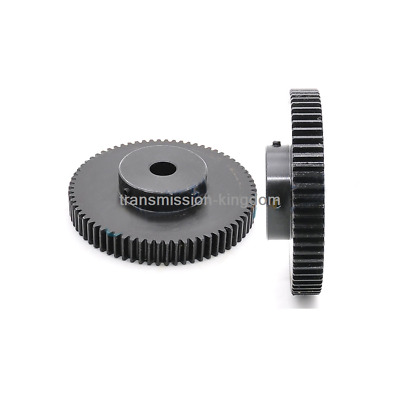 1.5Mod 60T Spur Gear 45# Steel Motor Gear Outer Diameter 93mm Bore 8-20mm x 1Pcs