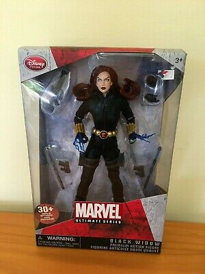 "Black Widow Disney Store 10"" Figurine Marvel Ultimate Series New"