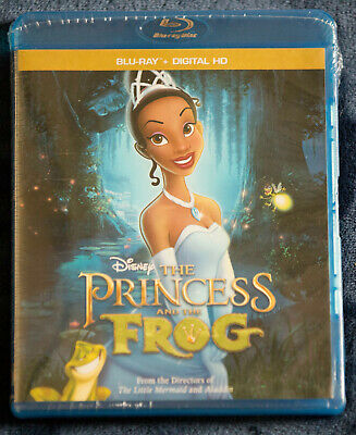 Disney The Princess and the Frog BRAND NEW Blu-ray bluray no code FAST SHIPPING