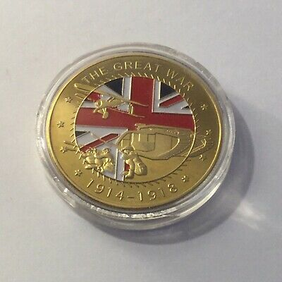 THE GREAT WAR 1914-1918 Challenge Coin