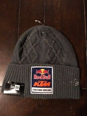 a3f1f5628 RED BULL NEW Era Grey flecked beanie hat - $114.95 | PicClick