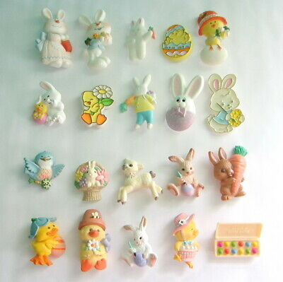 Group Of Hallmark Pins - 20 Easter (All Different - Vintage To Now) #1
