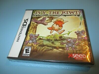☆GD NINTENDO DS Videogame-Ivy The Kiwi-Video Game Single+