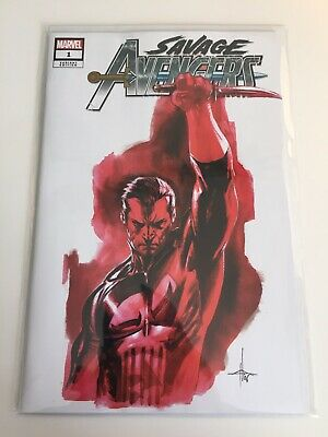 Marvel Comics Savage Avengers #1 Dell'Otto Variant Punisher Cover NM+