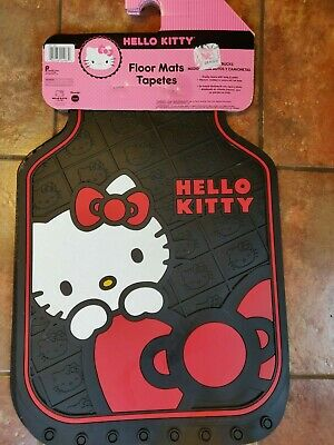 1dc8ea33a New Sanrio Hello Kitty Car Truck 2 Front All Weather Rubber Floor Mats Set