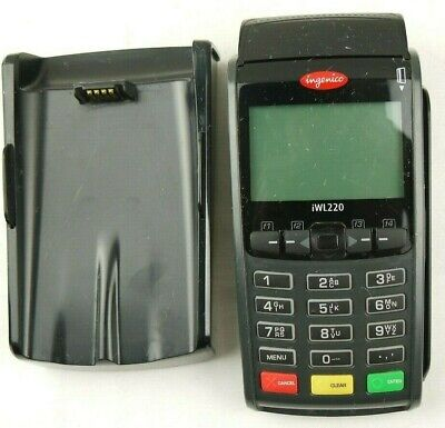 Ingenico Iwl220 Wireless Pos Credit Card Reader Terminal With Chargeable Cradle