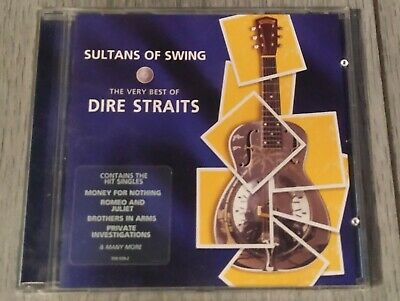 Dire Straits : Sultans of Swing: The Very Best of Dire Straits CD Very Good Cond
