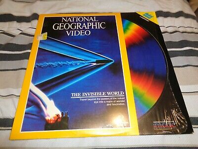 NATIONAL GEOGRAPHIC VIDEO: THE INVISIBLE WORLD Laserdisc LD