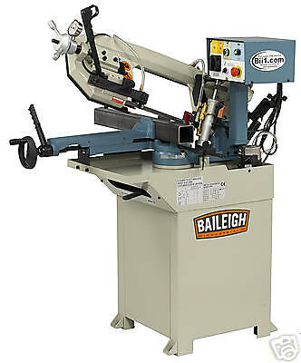 New Baileigh Bs-210M Single Miter Horizontal Band Saw Free Shipping