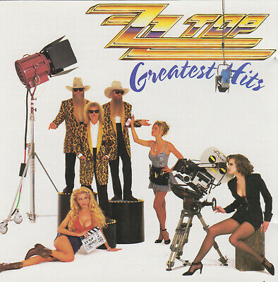 ZZ Top - Greatest Hits (CD, 1992 Warner Bros. W2 26846) Fully Tested