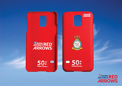 Job lot of 50 OFFICIAL RAF RED ARROWS ECLAT DESIGN SAMSUNG S5 PHONE CASE COVER
