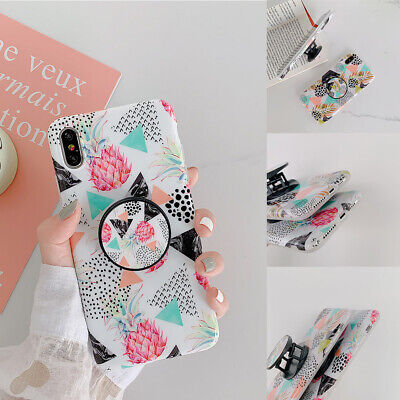Fashion Pattern Shockproof Ultrathin Non-slip Soft TPU Phone Case For iPhone Lot