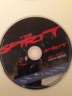 The Spirit (Blu-ray Disc, ) Blu Ray Disc Only-Replacement Disc