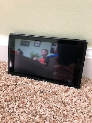 NO RESERVE AUCTION! REPLACEMENT Nintendo Switch 32GB Tablet Console ONLY! XAW100