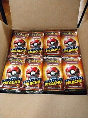 12 Pack Lot LIMITED Pokemon Detective Pikachu Movie 2 Card Pack  -PROMO 2019 NEW