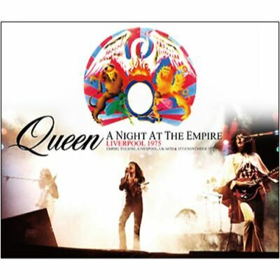 NEW QUEEN A NIGHT AT THE EMPIRE: LIVERPOOL 1975 3CDR #Ke