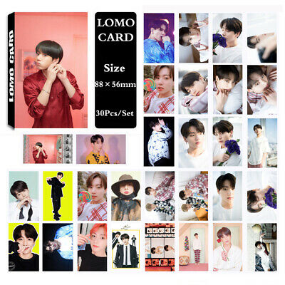 KPOP BTS Bangtan Boys Album MAP OF THE SOUL PERSONA JUNGKOOK Lomo Card PhotoCard