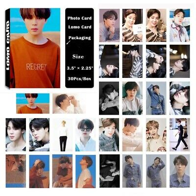 30Pcs/set KPOP Bangtan Boys JIMIN Love Yourself tear Photo Card Lomo Card