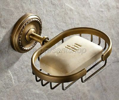 Bathroom Accessories Antique Brass Basket Soap Dishes Soap Holder Soap Bba100
