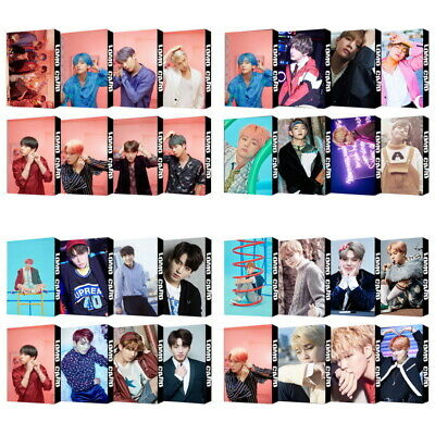KPOP BTS Bangtan Boys Album Photocard Poster Lomo Card Photo Card Bookmark