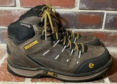 17c5eadbefd WOLVERINE EDGE LX EPX™ WATERPROOF WORK BOOT Black/Grey Size 14 ...