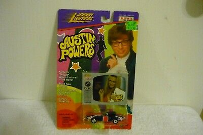 Austin Powers Shaguar Car Johnny Lightning Hollywood On Wheels