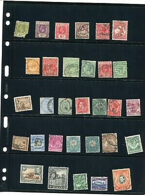 British Commonwealth, Colonies Used 39 Stamp Collection From Late 1800's On