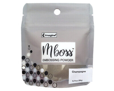Imagine Crafts Mboss Embossing Powder 15g Champagne