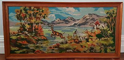 Tapestry – Old Country Scene – All Hand Made