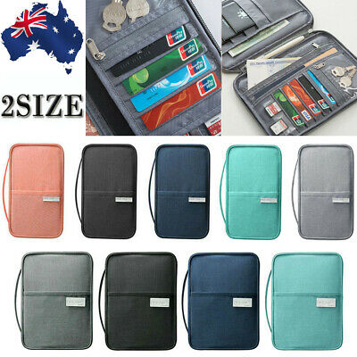 Travel Wallet Passport Holder Creative Waterproof Document Case Organizer New
