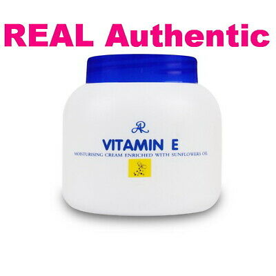 AR Vitamin E Moisturizing Cream Face&Body Enriched Nature Sunflowers Oil 200ML