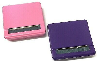 Pink Purple Quality Automatic Rolling Machine Strong Metal Cigarette Roller Tin