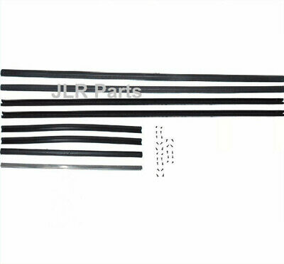 Land Rover Series 2 2A 3 Safari Side Rear Sliding Window Channel Kit With Screws