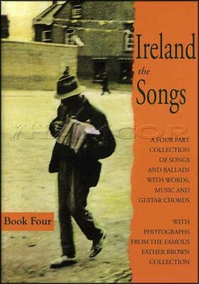Ireland the Songs Book 4 Four Chord Melody Songbook Irish Tune SAME DAY DISPATCH