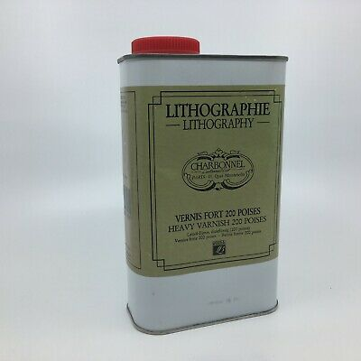 Charbonnel Lithographic Heavy Varnish 200 Poise 1 Litre
