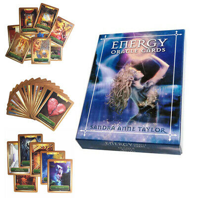 53 Energy Tarot Cards Oracle Cards Magic Fantasy Guidebook For Friends Family US