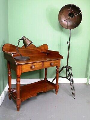 An Antique Late Victorian Mahogany Washstand Table ~Delivery Available~