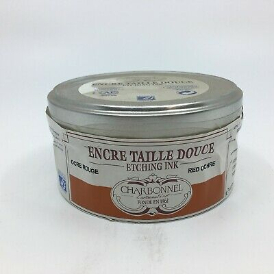 Charbonnel Etching Ink Red Ochre 400ml Tin
