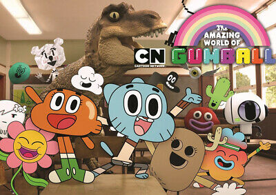 "The Amazing World of Gumball  24/"" x 36/"" poster print"