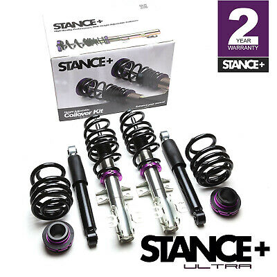Stance+ Ultra Low Coilovers Suspension Kit VW Transporter T6 T32 (2015-)