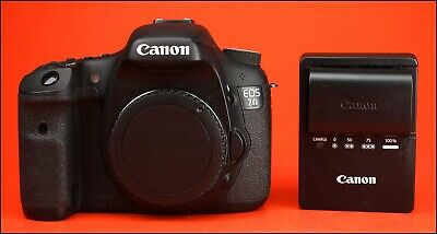 Canon EOS 7D Digital SLR Camera, Sold With Battery & Charger, Full Working Order
