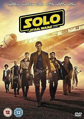 Solo: A Star Wars Story DVD (2018) - New and Sealed