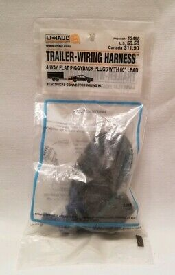 U-HAUL TRAILER WIRING HARNESS Product# 14486 (Sealed) - $19.71 ... on battery harness, amp bypass harness, pony harness, engine harness, fall protection harness, maxi-seal harness, obd0 to obd1 conversion harness, radio harness, dog harness, nakamichi harness, pet harness, electrical harness, alpine stereo harness, oxygen sensor extension harness, suspension harness, safety harness, cable harness,