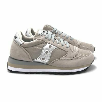 SNEAKER SAUCONY JAZZ Triple in suede e tessuto rosa antico