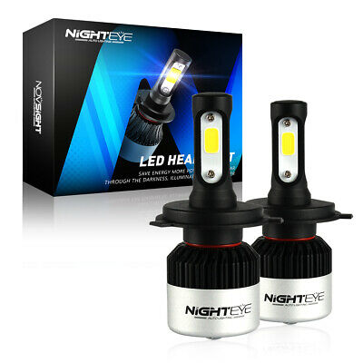 Nighteye H4/9003/HB2 72W 9000LM LED Phare de voiture Headlight Ampoule 6500K HID