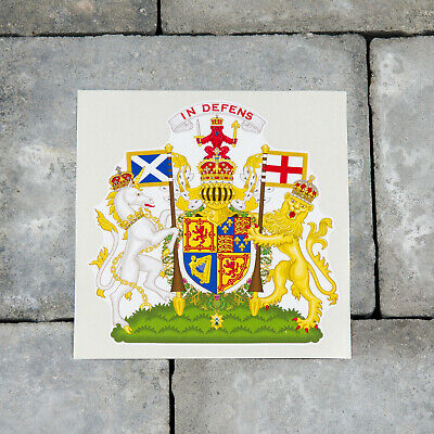 Scottish Coat Of Arms Vinyl Sticker Decals Wall MacBook iPad Laptop - SKU5907