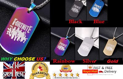 Fortnite Colourfull Necklaces Unisex Top Quality