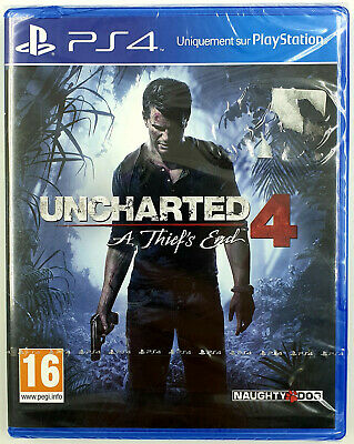 Uncharted 4 - PS4 - Neuf sous blister - FR