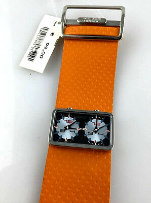Watch Benetton Watch Dual Time Women's Real Vintage Skin New Old Stock