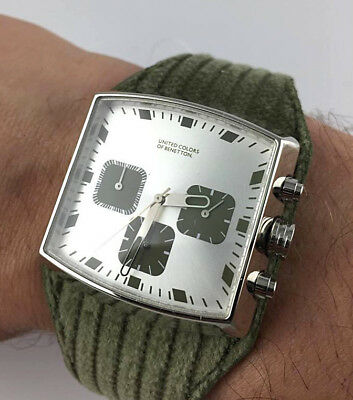 Watch Benetton Watch Chrono Space Age Real Vintage Skin New Old